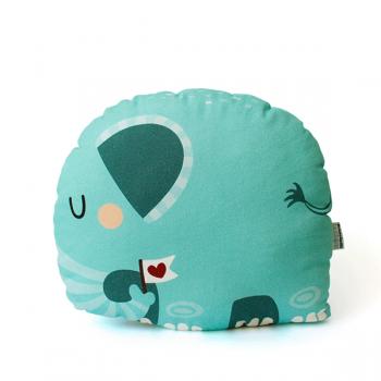 käselotti Elefant Kissen Kuscheltier Rückansicht