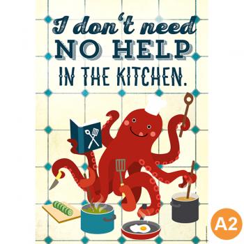 käselotti A2 Poster Le Chef