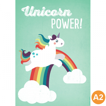 käselotti A2 Poster Unicorn Power