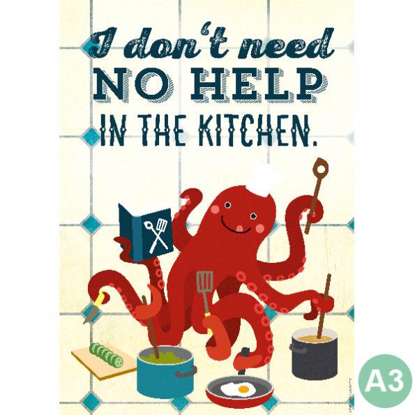 käselotti A3 Poster Le Chef