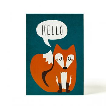 käselotti Postkarte Hello
