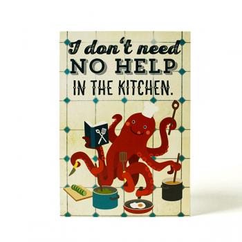 käselotti Postkarte Le Chef