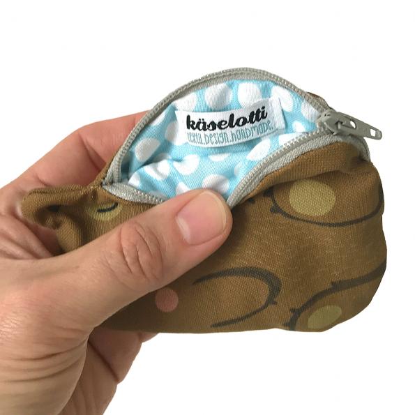 käselotti-Bären-Portemonnaie
