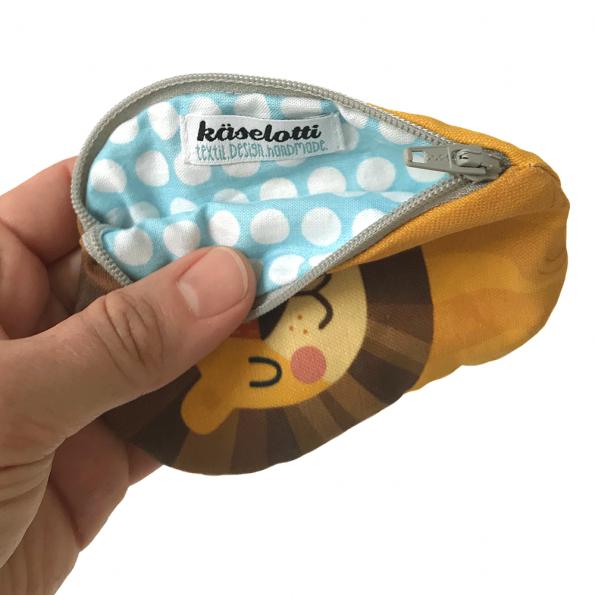 käselotti-Löwen-Portemonnaie